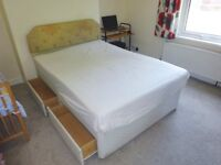 Double Bed Divan with 4 Drawers