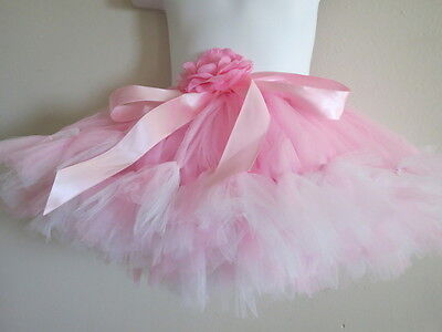 New Light Pink Deluxe Tutu  1 4 Years
