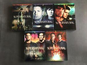 SUPERNATURAL - Seasons 1-5 [DVD]