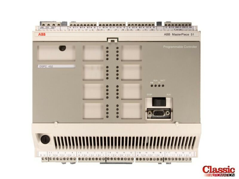 ABB | DSPC 452 | MasterPiece 51 Controller Unit (Refurbished)