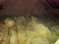 Loft Insulation 270+ mm, 35 m2 - used