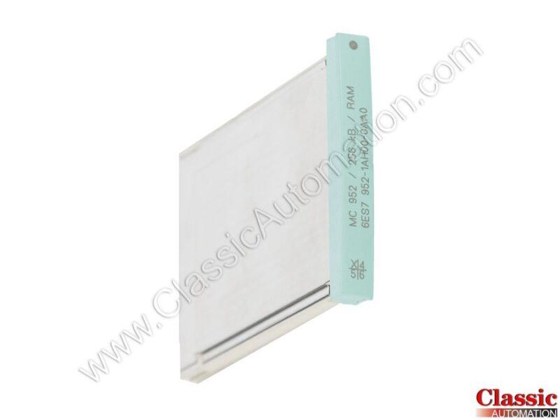 Siemens   6ES7952-1AH00-0AA0   256 KB RAM Memory Module (Refurbished)