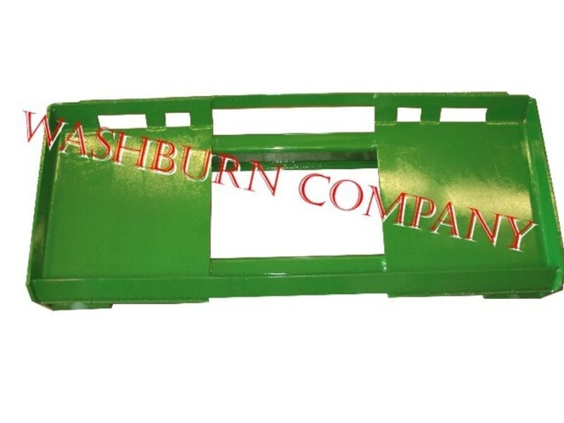Skid Steer Adapter to Fit JD 500 Series Loader Attachments