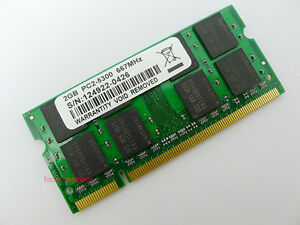 New 2GB DDR2 PC2-5300 667MHz 200pin Laptop SODIMM Memory RAM pc5300 Low Den