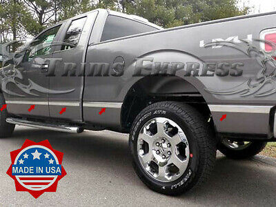2009-2014 Ford F-150 Super Cab 6.5' Short Bed N/F Flat Body Side Molding 1.5""