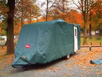 Caravan cover (Protec) & Towing cover for Swift single axel rear door.
