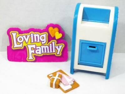 ~Fisher Price~ Loving Family Dream Dollhouse Postal Mailbox & Letters VHTF