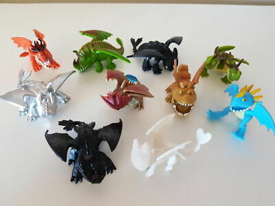 How to Train Your Dragon 10 pcs Figures Set Toothless Night Light Fury Nadder](New Minnie Mouse Toys)