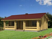 heavy log cabin