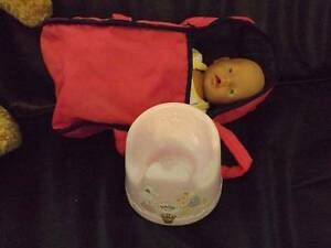 baby born with carrier and potty (2) Oakford Serpentine Area Preview