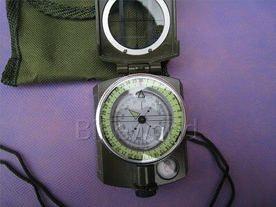 Professional Pocket Military Army Geology Compass Camouflage Color multifunction