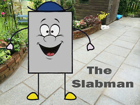 The SLABMAN - Paving, paths, patios, shed bases