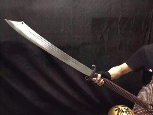 Wonderful KungFu Broadsword Dao DaDao Sword Sharp High Manganese Steel Blade