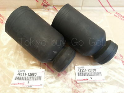 Toyota Corolla CP Coupe AE86 Front Spring Bumper LH+RH set NEW Genuine OEM Parts