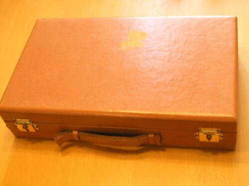Vintage Abercrombie & Fitch Bakelite Poker Chip Set Box As Shown