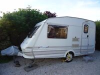 Elddis Whirlwind Vogue -1997 Lightweight Touring Caravan for sale