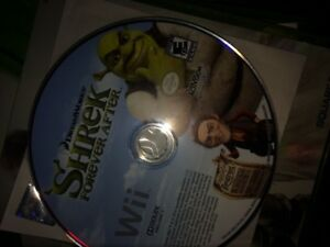 Shrek Wii game and movie