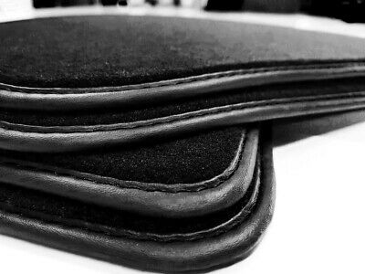 Neu Fußmatten Mercedes S-KLasse W140 COUPE beste Qualität Velours Schwarz Matte