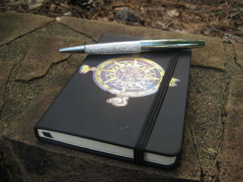 AUTOMATIC WRITING PEN AND BOOK OF SHADOWS MOONSTAR7SPIRITS EXCLUSIVE