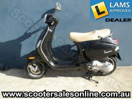 2005 Vespa LX 125 Black Smithfield Parramatta Area Preview