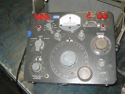 General Radio Company Megohm Bridge Type 1644-a