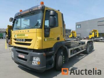 Iveco Stralis container truck (2007-708718 km)
