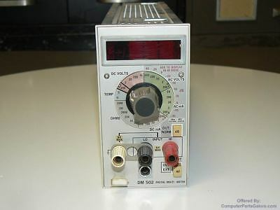 Tektronix Dm502 Digital Multi-meter Tested