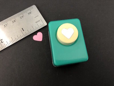 Small HEART Decorative Paper Punch Scrapbook Card making Craft Art DIY by CARL