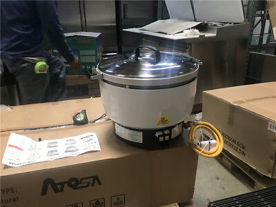 30 Cup Propane Or Gas Rice Cooker And Warmer Commercial Use Cooler Depot