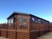 (STATIC CARAVAN)LUXURY WILLERBY LODGE FOR SALE NORTH WALES- LARGE DECKING INCLUDED WITH LAKE VIEWS