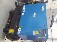 ABAC Genesis 18.5 rotary screw compressor, new 2013