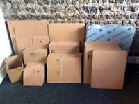 180+ New cardboard boxes for postal packaging