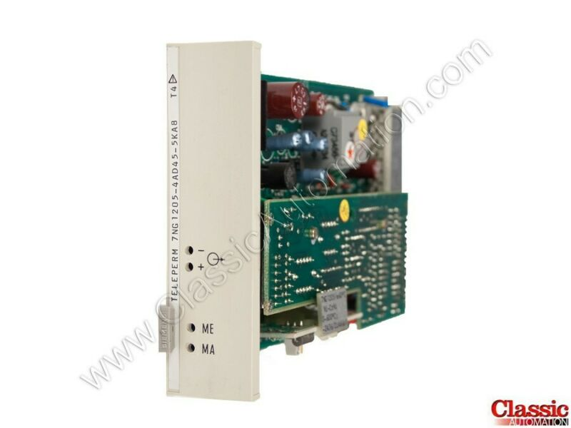 Siemens| 7NG1205-4AD45-5KA8 | Temperature Transmitter Module (new)