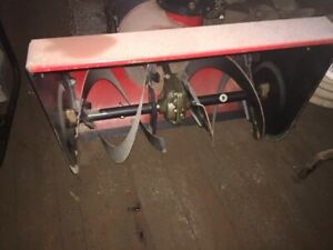 24 inch snow blower needs carb