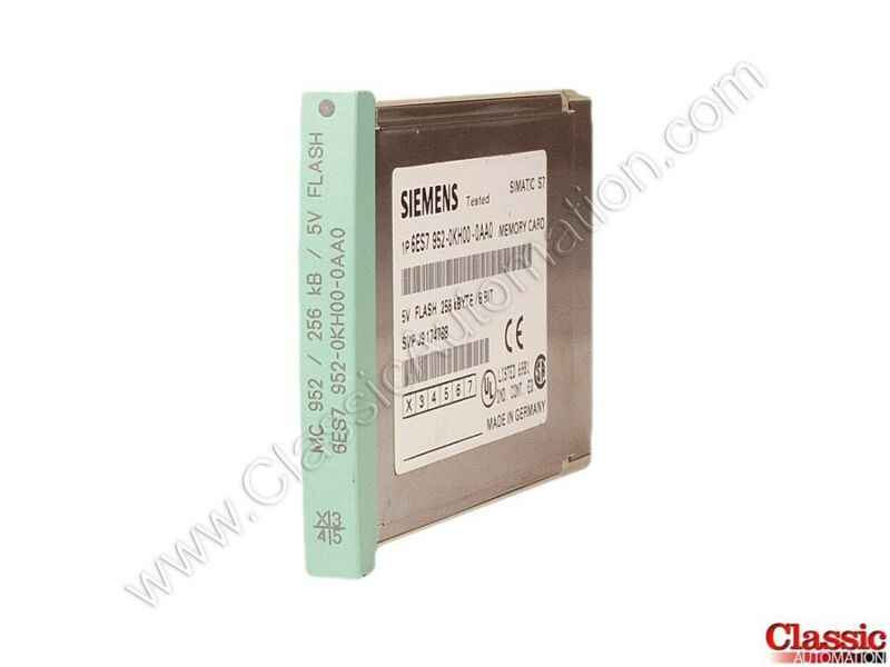 Siemens | 6ES7952-0KH00-0AA0 | Flash Memory Module - 256 KB (Refurbished)