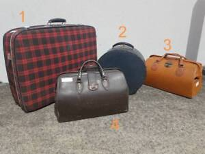 Vintage Bags & Suitcases Chermside Brisbane North East Preview