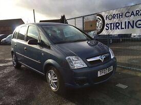 CAR FINANCE SPECIALISTS Vauxhall Meriva, Stirling,Falkirk,Perth,Fife