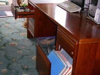 Mahogony Solid Wood Desk