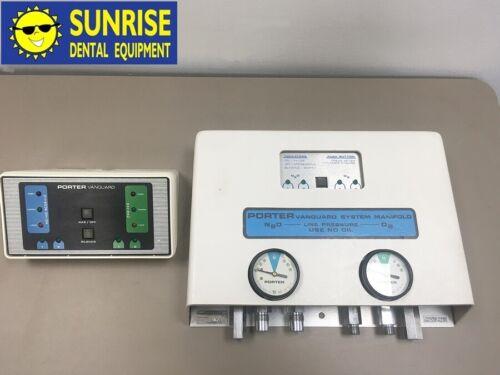 Porter Vanguard Manifold System Flowmeter for Oxygen & Nitrous