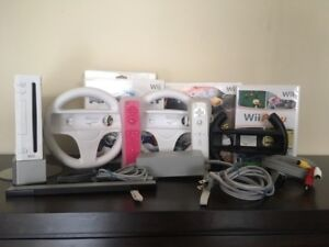 Nintendo Wii Bundle! | Games, Remotes, Wheels + More!