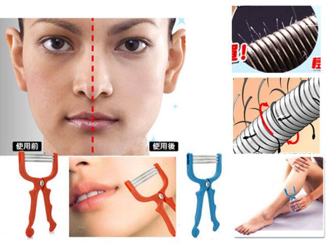 Marvelous Safe Handheld Face Facial Hair Removal Threading Beauty Epilator Hairstyles For Men Maxibearus