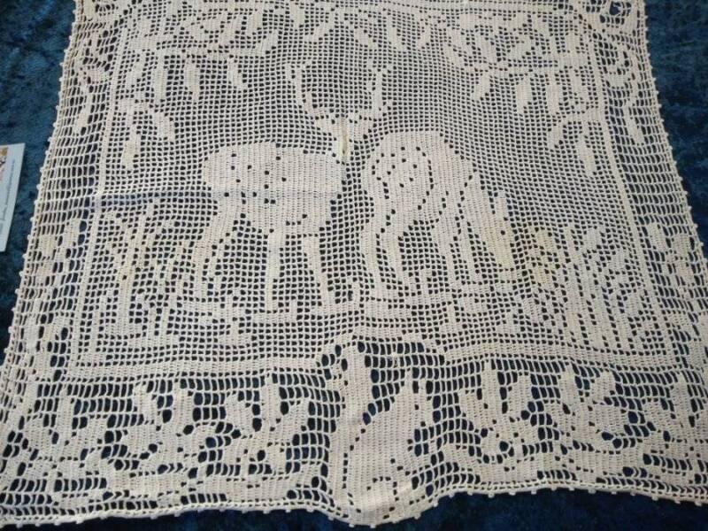 Antique MARY CARD Design 1931-Hand Crochet