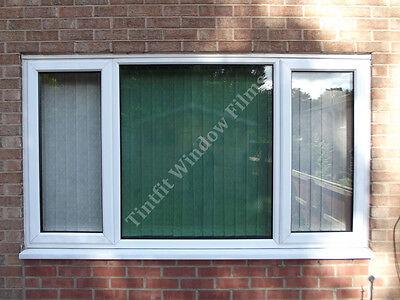 NON REFLECTIVE BRONZE 25 75cm x 1m ONE WAY WINDOW TINTING TINT FILM