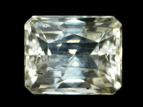 CERTIFIED SCAPOLITE YELLOW 12.48 CARATS NATURAL CEYLON LOOSE GEM - 20035