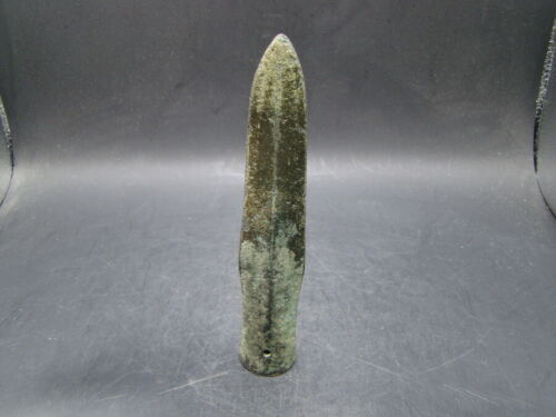 Chinese Warring states period (475-221 BC) nice bronze spear (Mao)  a4141