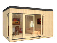 INSULATED NORDIC STYLE GARDEN CABIN