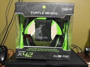 Turtle beaches x42 WIRELESS headset (Xbox 360)