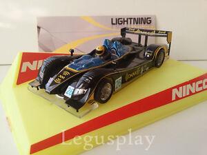 Slot-SCX-Scalextric-Ninco-50525-Acura-LMP2-Lightning-Franchitti-Herta