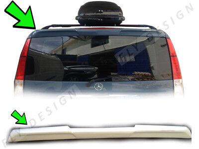 Mercedes Vito Dach VIANO W639 aileron arrière perfektion bis ins detail splitter