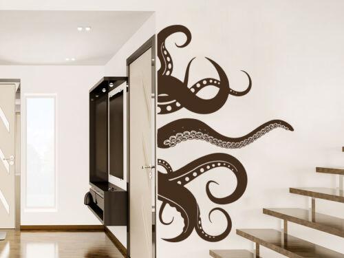 Octopus Wall Decal Vinyl Sticker Decals Tentacles Fish Deep Ocean Animals NS1012